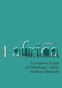 Tome 88 - fascicule 2. 2018. Le forgeron, le juge et l'ethnologue : autour de Bruno Martinelli